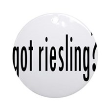 gotRiesling.png Ornament (Round)