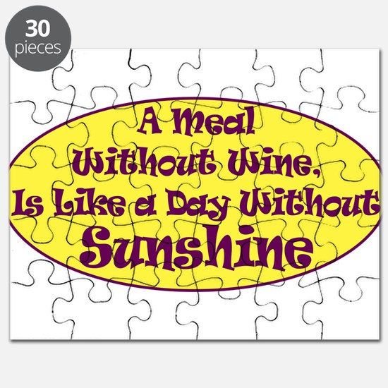 A Meal Without Wine Puzzle