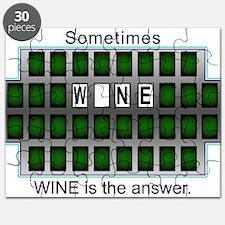 Cute Chardonnay Puzzle