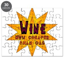 Wine, Now Cheaper than Gas Puzzle