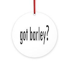 GotBarley.png Ornament (Round)