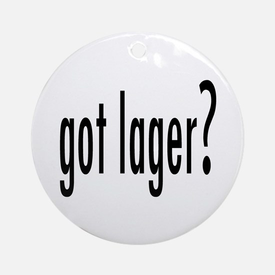 GotLager.png Ornament (Round)