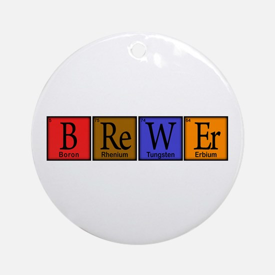 Periodic-BOCK.png Ornament (Round)
