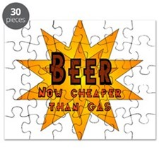 Beer, Now Cheaper than Gas Puzzle