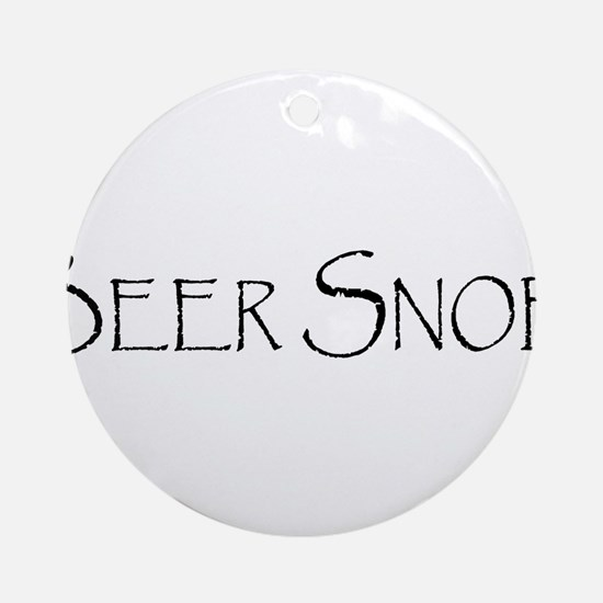 BeerSnobCP.png Ornament (Round)