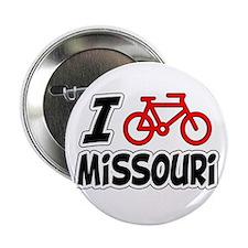 "I Love Cycling Missouri 2.25"" Button"