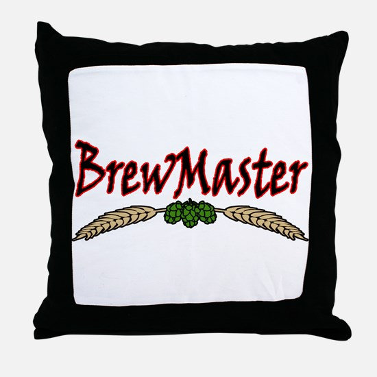 BrewMaster2.png Throw Pillow