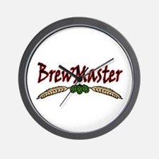 BrewMaster2.png Wall Clock