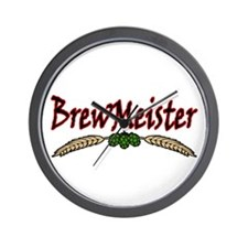 BrewMeister.png Wall Clock