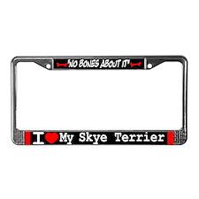 NB_Skye Terrier License Plate Frame