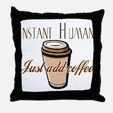 Unique Morning brew Throw Pillow
