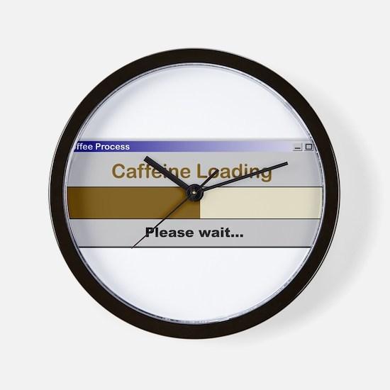 CaffeineLoading.PNG Wall Clock