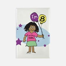 8th Birthday Rectangle Magnet