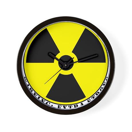 Radiation.png Wall Clock