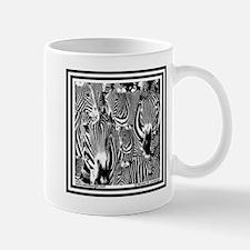 Zebra Faces Mug