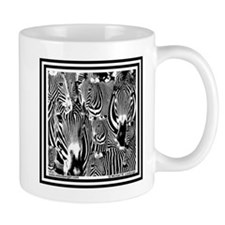 Zebra Faces Mug