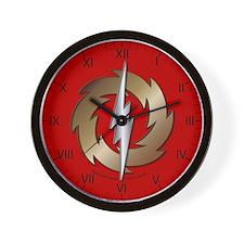 Clock - Thunder Wheel Wall Clock