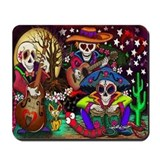 Day of the dead Mouse Pads