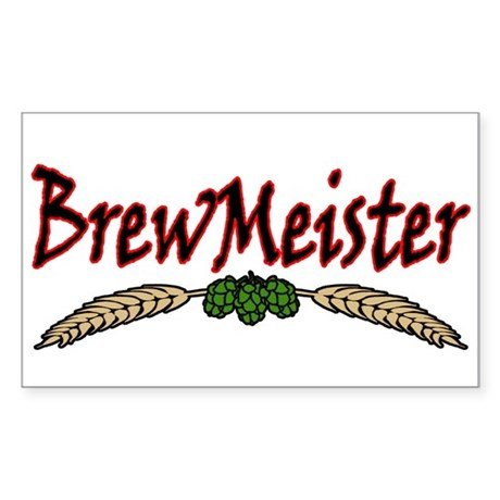 BrewMeister.png Sticker (Rectangle)