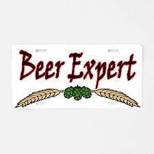 BeerExpert2.png Aluminum License Plate