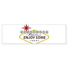 Las Vegas Pinot Noir Bumper Sticker