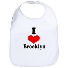 I Heart Brooklyn 1 Bib