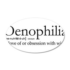 Oenophilia Wall Decal