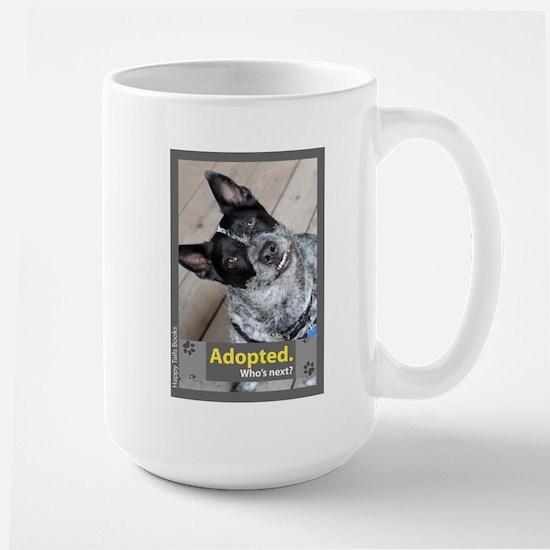 Australian Cattle Dog ( Blue Heeler ) Large Mug