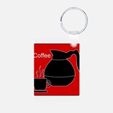 iCoffee Red Keychains