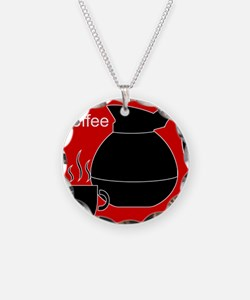 iCoffee Red Necklace