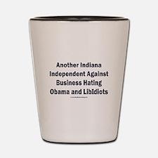 Indiana Independent Shot Glass