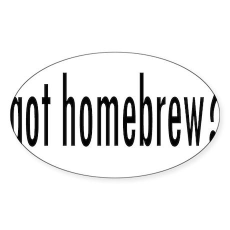 GotHomebrew.png Sticker (Oval 10 pk)