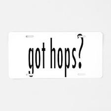 GotHops.png Aluminum License Plate