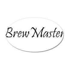 BrewMasterFilledBlack.png Wall Decal