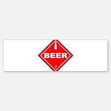 HazMatBeer.png Bumper Bumper Sticker