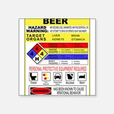 "CrossingTheAle-ware.png Square Sticker 3"" x 3"""
