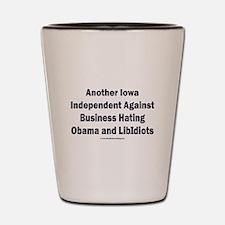 Iowa Independent Shot Glass