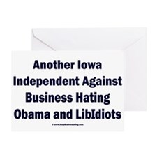 Iowa Independent Greeting Card