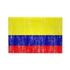 Colombia Flag Rectangle Magnet