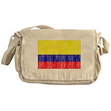 Colombia Flag Messenger Bag
