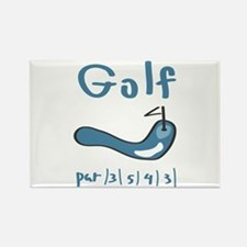 Golf1 Rectangle Magnet