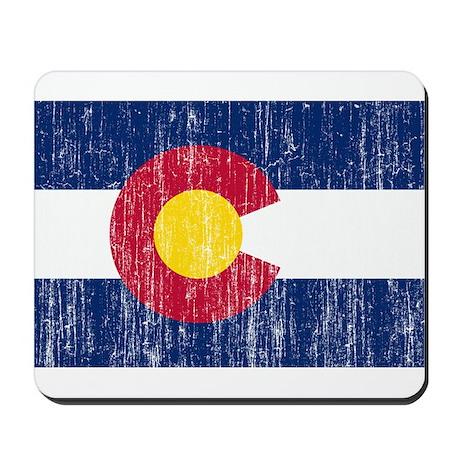Colorado Flag Mousepad