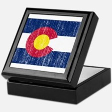 Colorado Flag Keepsake Box