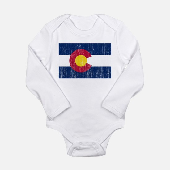 Colorado Flag Onesie Romper Suit