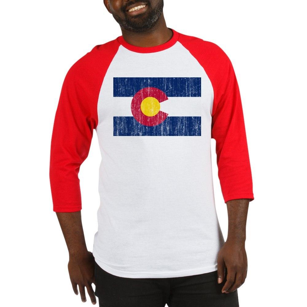 652394539 CafePress Colorado Flag Baseball Jersey Baseball Tee