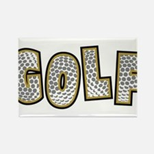Golf2 Rectangle Magnet