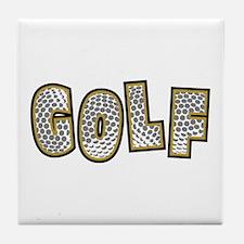 Golf2 Tile Coaster