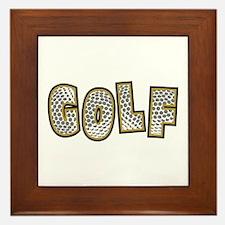 Golf2 Framed Tile
