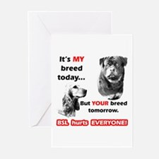 BSL 2 Greeting Cards (Pk of 10)