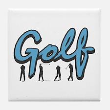 Golf4 Tile Coaster